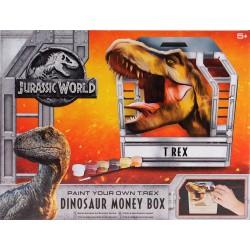 Craft set Grafix Jurassic World Dinosaur T-Rex Money Box R070086
