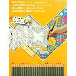 Art set Grafix Coloring Book 80 Sheets 2 assorted CR0304/GE