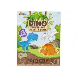 Craft set Grafix Dinosaur Activity&Sticker Book R040129C48