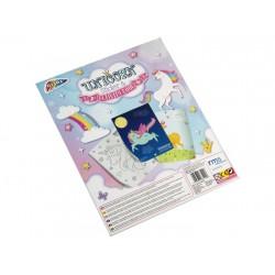 Craft set Grafix Unicorn Activity&Sticker Book R040128C48