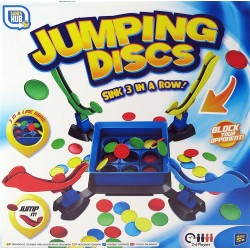 "Board game ""Three in a row"" Grafix Jumping Discs R050035"