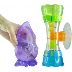 Bathing set with suction cup Ludi Crazy Octopus 2145