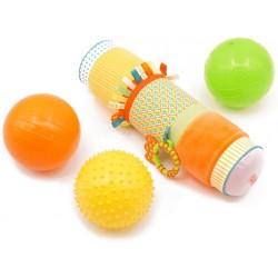 Balls set and roller Ludi Sensory Box 30001