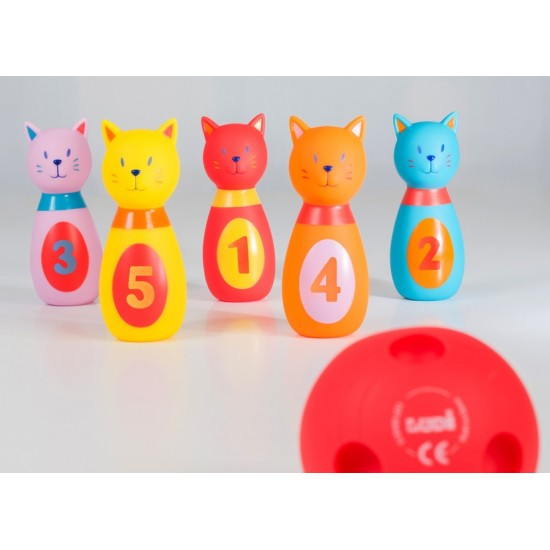 Activity toy Ludi 123 Soft Bowling 3450