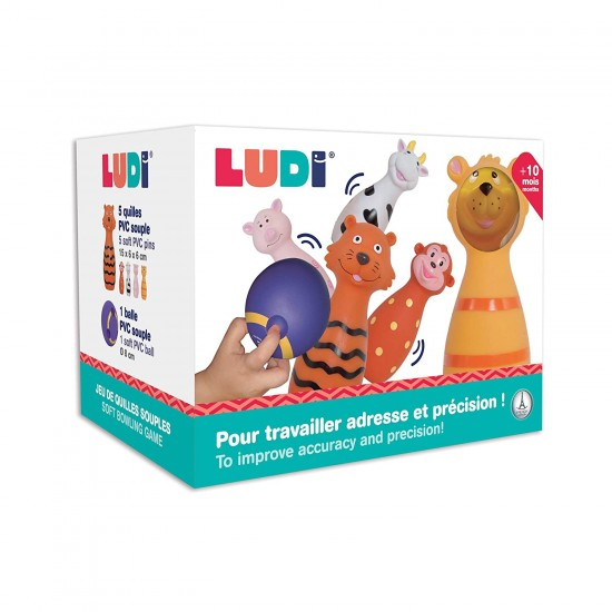 Activity toy Ludi Soft Bowling 3455