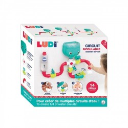 Bathing set with suction cup Ludi Water Circuit 40061