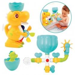 Bathing set with suction cup Ludi Box Bath Dino 40071