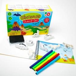 Art Set Meadow Kids Mini Dinosaurs Stamps Set MK171
