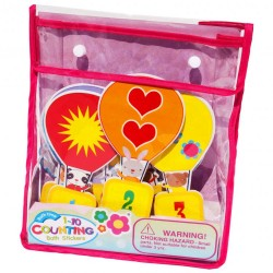 Bathing set Meadow Kids Counting Bath Time Stickers MK180