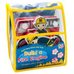 Bathing set Meadow Kids Build a Fire Engine MK331