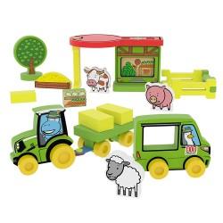 Educational toy Millaminis My First Farm - Big Box 20062