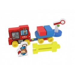 Educational toy Millaminis My First Train Station - Small Bag 20063