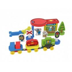 Educational toy Millaminis My First Train Station - Big Box 20065