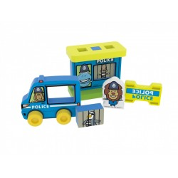 Educational toy Millaminis My First Police Station - Small Bag 20069