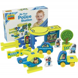 Educational toy Millaminis My First Police Station - Big Box 20071