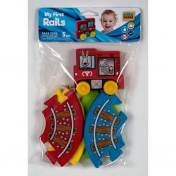 Educational toy Millaminis My First Rails (5 Pcs) 20084