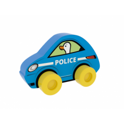 Educational toy Millaminis City Cars - Police Blue 20002