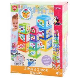 Educational toy PlayGo Stick&Stack Blocks 2380