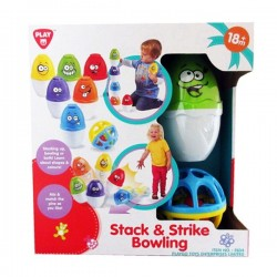 Activity toy PlayGo Stack & Strike Bowling 2834