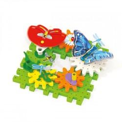 Constructor Quercetti Georello Garden Fun Bugs 6 Gears 2367
