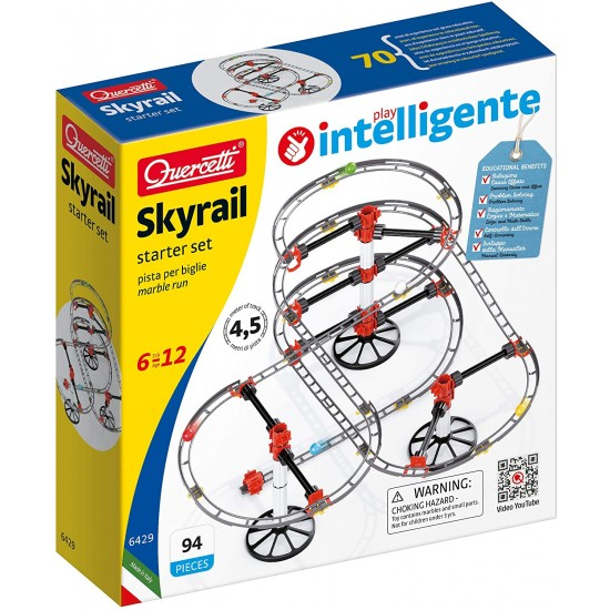 Constructor air slides Quercetti SkyRail Roller Coaster Starter Set 6429