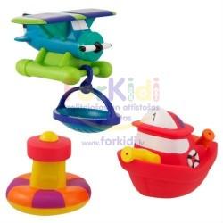 Bathing toy Sassy Rescue Vehicle Set 10071