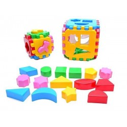 Constructor 2 sorter cubes Logic Teh Toy Smart Kid 1+1 22*12*12cm 1899