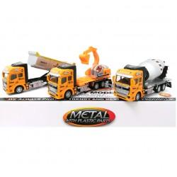 Auto Builder Truck 19 cm Metal in display 2211-6