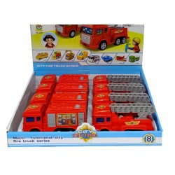 Car Auto Fire Truck in display 2280