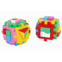 Constructor 2 sorter cubes Logic Teh Toy Smart Kid Logic Combi 25*12*12cm 2476