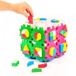 Large cube-sorter Logic Teh Toy Smart kid Super Logic 21*21*21cm 2650