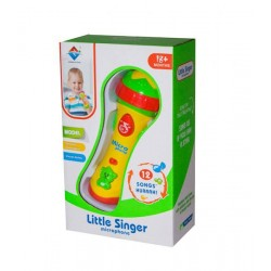 Musical toy microphone Baby Little Singer 2807
