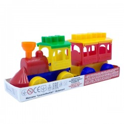 Play set train Maximus Meccano Locomotive Kid 18 pcs. 5147