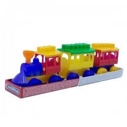 Play set train Maximus Meccano Locomotive Kid 27 pcs. 5148