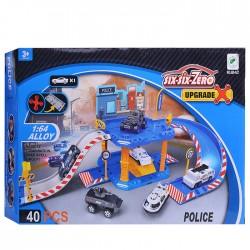 Play set Six-Six-Zero Parking Police Set 660-A27