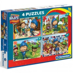 Clementoni Puzzles Mike Knight 2x20 pcs + 2x60 pcs 07605