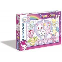 Clementoni Puzzle Jewel Pets 60 pcs 26859