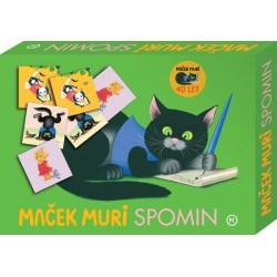 Board game Clementoni Muri The Cat Memory 24 Couples (Slovene) 270204