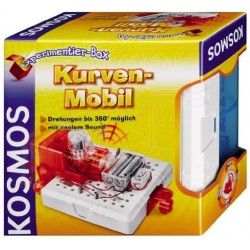 Children's set for the study of electronics Kosmos Experiment Box Curves Mobile 628048