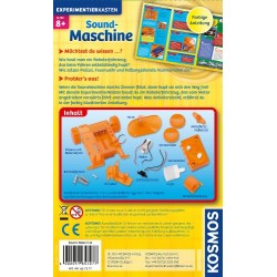 Children's set for the study of electronics Kosmos Carrying Experiments Sound Maschine 657277