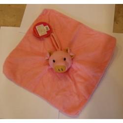 DTZ088 baby washcloth - mini towel pig