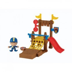 Fisher Price Mike The Knight Training Grounds Playset Y8369