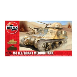 Airfix A01317 Lee Grant Tank Model Building Kit, 1:76 Scale