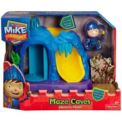 Fisher Price Mike The Knight Maze Caves Adventure Playset BBY29