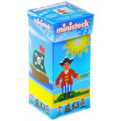 Mosaic pixel puzzle Ministeck Pirates 4 in 1 32533